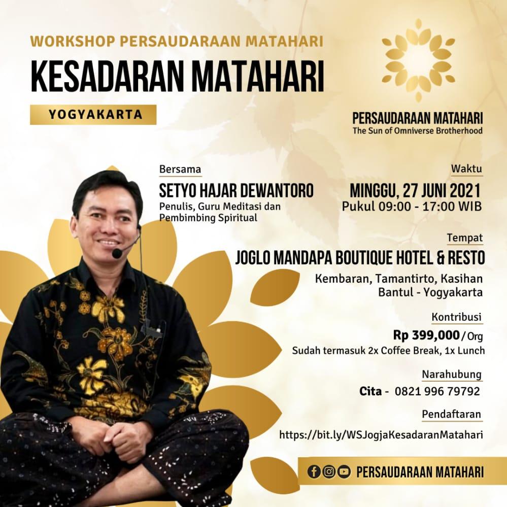 Workshop Yogyakarta: Kesadaran Matahari