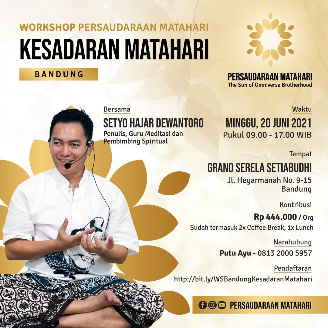 Workshop Bandung: Kesadaran Matahari