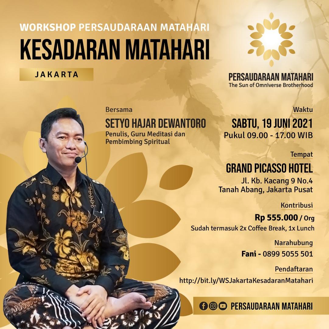 Workshop Jakarta: Kesadaran Matahari