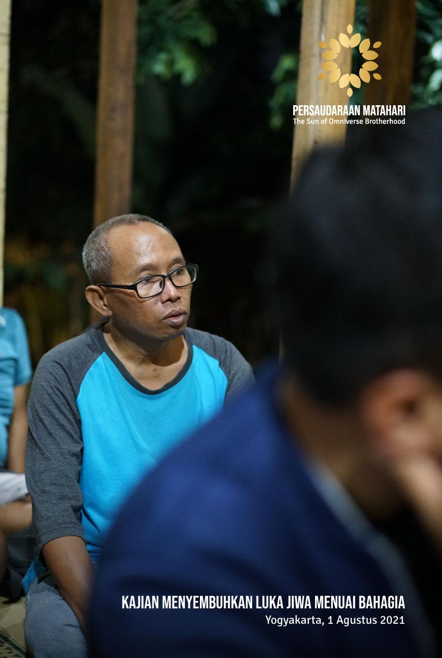 Kajian Yogyakarta: Menyembuhkan Luka Jiwa Menuai Bahagia – 1 Agustus 2021